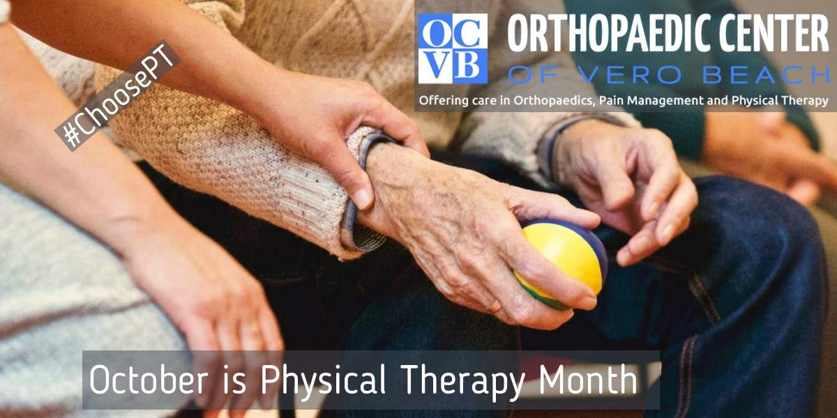 october is physical therapy month